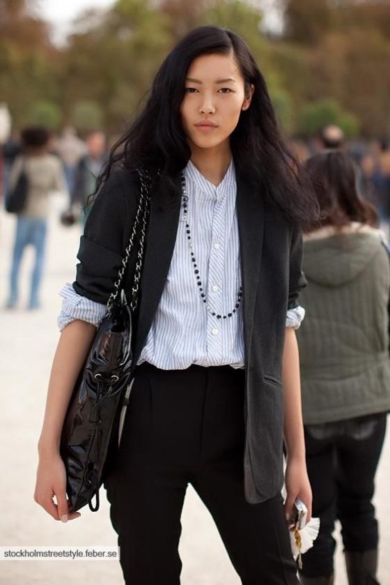 Model Streetstyle -Liu Wen