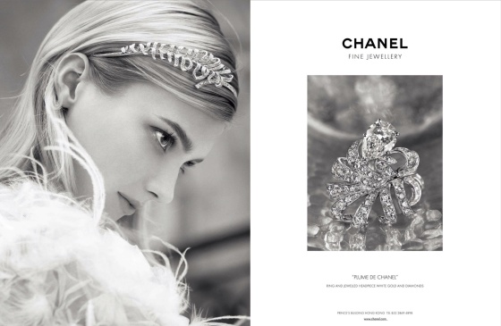 Chanel Spring 2013 Jewelry Starring, Sigrid Agren released another shot