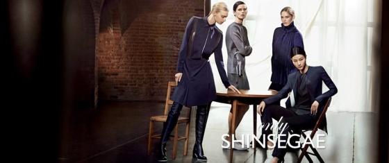 Sigrid Agren, Stella Tennant, Heidi Mount, and Ji Hye Park for Shinsegae F/W 2013
