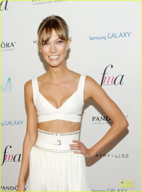 Karlie Kloss Wins Model of the Year at Last Night's The Daily Front Row Fashion Media Awards