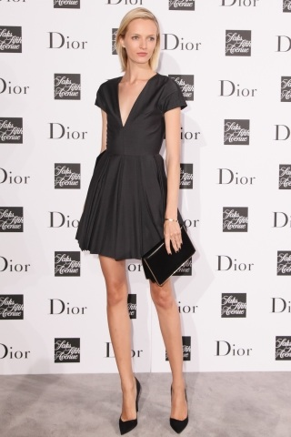 Daria Strokous Stuns at Last Night's Dior Party