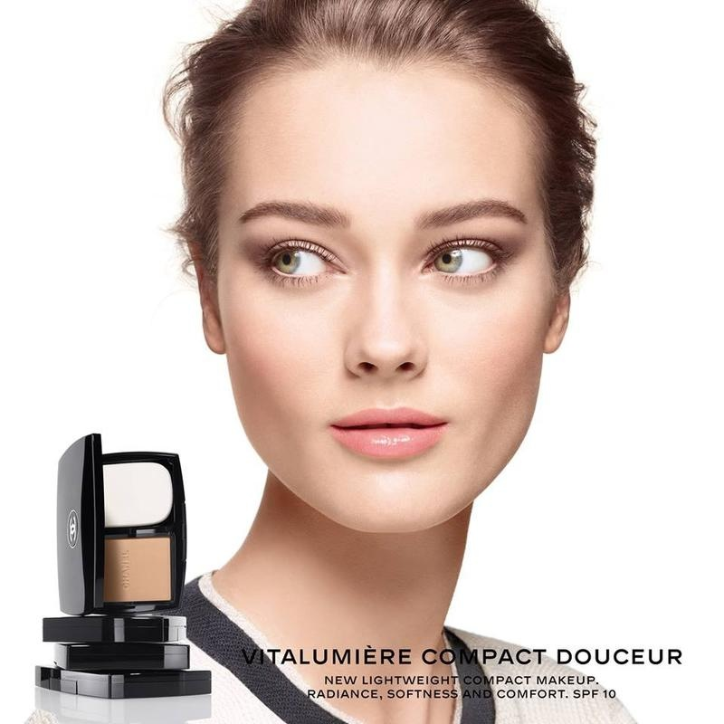 Chanel Vitalmière Compact Doucetur Campaign Released